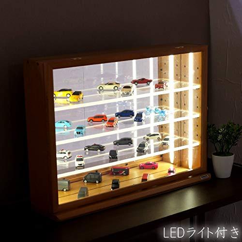 ナカバヤシ『LEDライト付きコレクションケースワイド(IT-CCM-202NM-LED)』