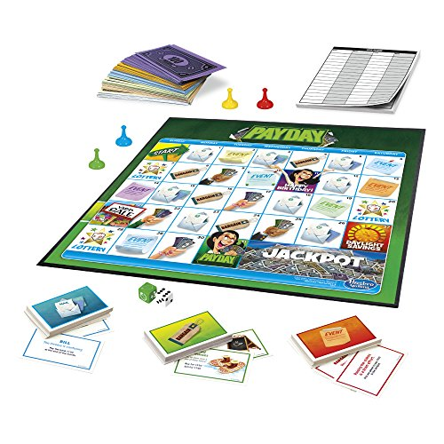 Jeu Jour de paye Pay Day Hasbro Game - 4