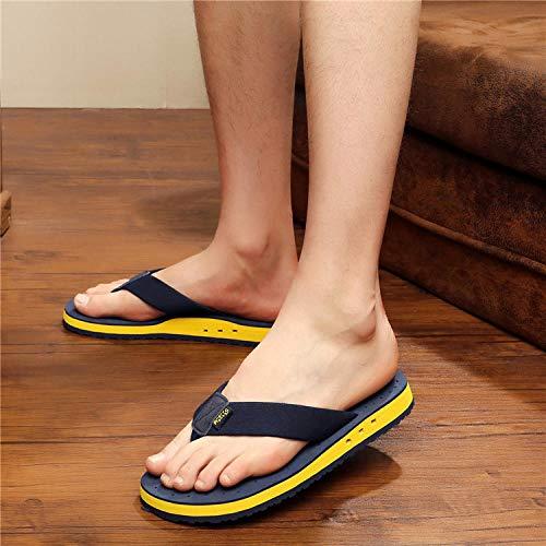 MedusaABCZeus Zapatos de Playa de Baño,Zapatos de Playa Antideslizantes, Sandalias y Zapatillas Chanclas Hombres-Azul Marino_42,Piscina Sanitarios Sandalias Verano