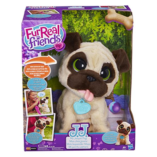 petit un compact Peluche interactive Far Real Friends-My Playful Dog