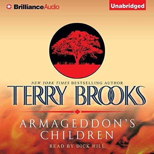 Armageddon's Children audiobook cover art