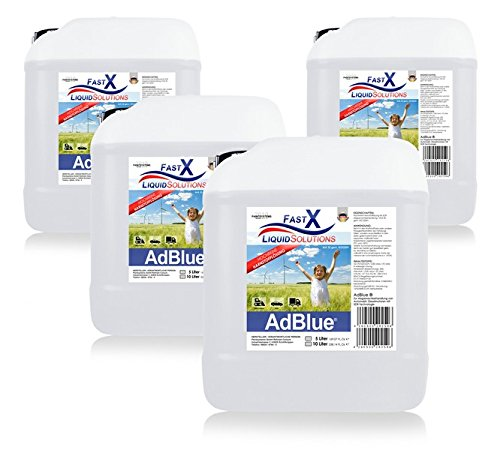 AdBlue® 4x10 Liter HARNSTOFFLÖSUNG SCR ABGASREINIGUNG Diesel