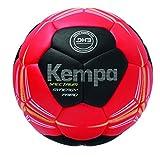 Kempa Spectrum Synergy Primo Ballon de handball Rouge/Noir/Jaune Citron Taille 2