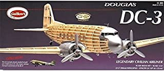 GUILLOW's Douglas DC-3 804 Balsa Display Model Kit by Guillows