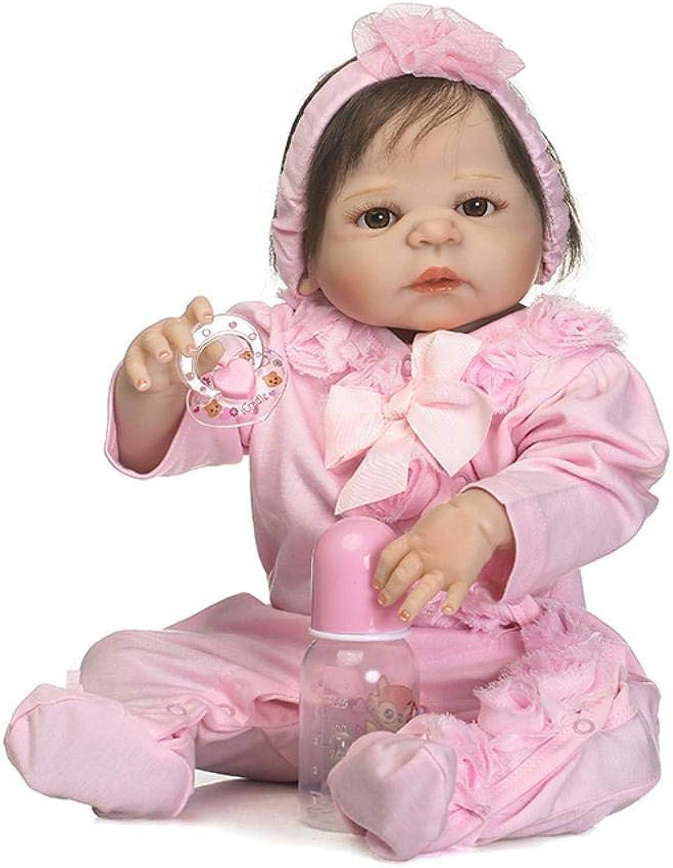 Hongge Reborn Baby Doll,Volle Silikon kann geben Sie lebensechte Wasserbad Baby Reborn Puppe Kinderspielzeug Geburtstag 57cm B07J2L4MKZ Bekannt für seine gute Qualität  | Verschiedene Stile und Stile