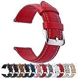 Fullmosa Cinturino 20mm Orologio, Axus Cinturini in Pelle, Compatible con Amazfit Bip/Bip ...