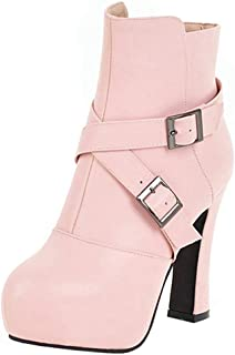 MisaKinsa Women Fashion High Heels Booties