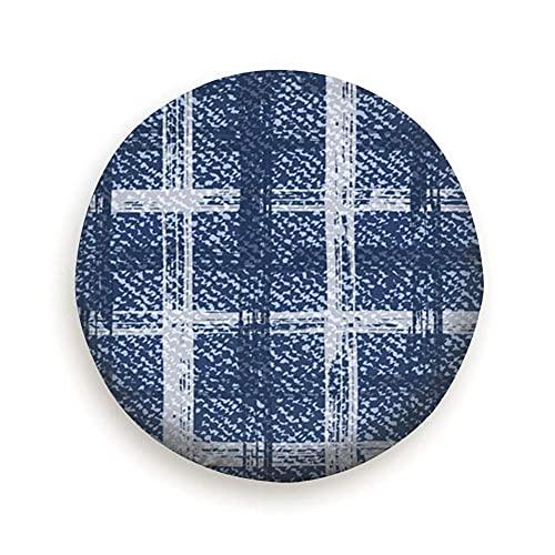 Hokdny Bandera De Colorado Logo del Corazón 4 Tamaños Diámetro del Neumático Se Adapta A Muchos Vehículos Impresión Colorida A Prueba De Polvo Universal 14/15/16/17 Inch