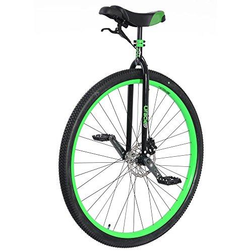 Nimbus Oracle Unicycle, Black/Neon Green, 36 Inch