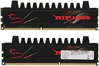G.Skill F3-10666CL7D-4GBRH  Ripjaws Series 4GB (2 x 2GB) 240-Pin DDR3 SDRAM DDR3 1333MHz (PC3 10666) Desktop Memory