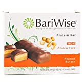 BariWise Protein Bar/Diet Bars - Peanut Butter (7ct), High Protein, Trans Fat Free, Aspartame Free