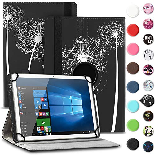 UC-Express Tablet Schutzhülle kompatibel für Archos 70 Xenon - Oxygen Tasche aus hochwertigem Kunstleder Hülle Standfunktion 360° Drehbar Cover Universal Case, Farben:Motiv 8