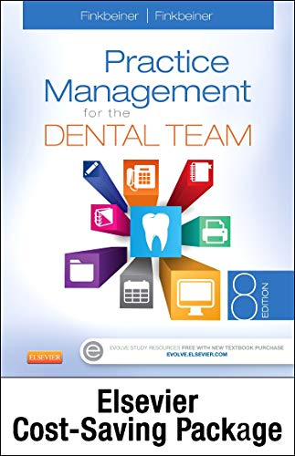 Compare Textbook Prices for Practice Management for the Dental Team - Text and Workbook Package 8 Edition ISBN 9780323225830 by Finkbeiner CDA Emeritus  BS  MS, Betty Ladley,Finkbeiner BS  MS, Charles Allan