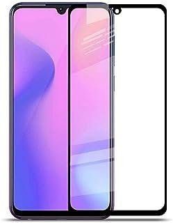شاشة حماية زجاجية 5D بإطار أسود لهاتف سامسونج جالكسي A10