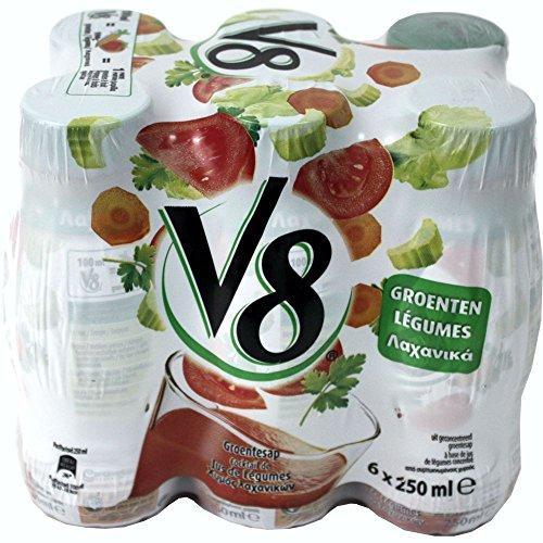 V8 'Tomatensaft/Gemüsesaft', 6 x 250ml Flaschen