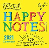 2021 Instant Happy Notes Boxed Calendar: 365 Reminders to Smile and Shine!
