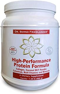 New Keto friendly Hydrolyzed Collagen Supplement Protein Powder with MCT oil powder, 1.25 lbs