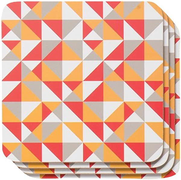 Now Designs Cork Backed Coasters Trio Set Of 4