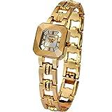 Time100 Orologio da polso alla moda Dimensionale tagliato vetro,donna_W80023L.03A