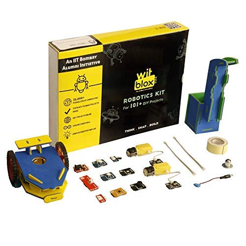 WitBlox Robotics Kit for 101 Projects