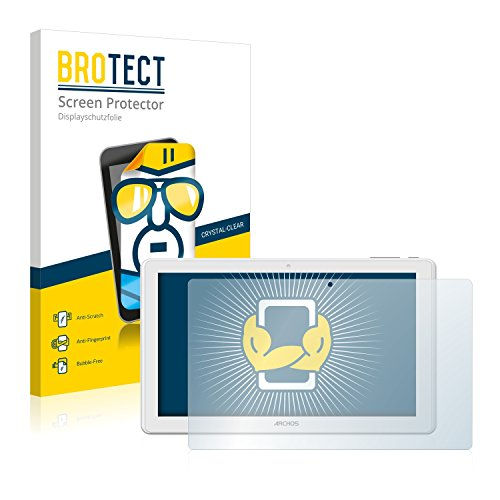 BROTECT Schutzfolie kompatibel mit Archos 101 Magnus (2 Stück) klare Bildschirmschutz-Folie