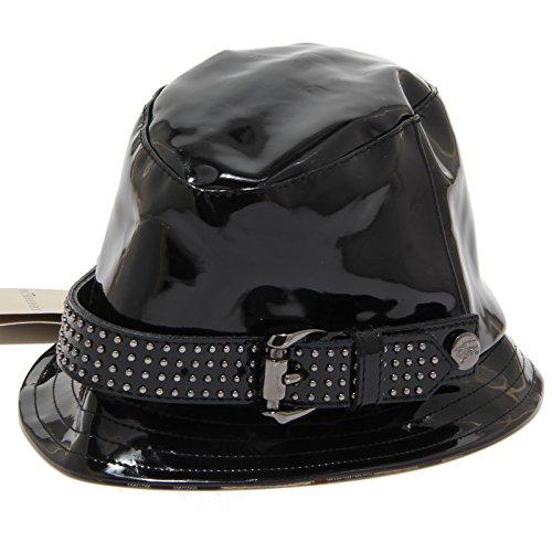 BURBERRY 7570I cappello pioggia bimba nero cappelli hats kids [46 CM]