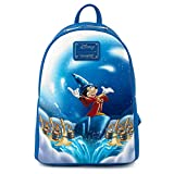 Loungefly Disney Sorcerer Mickey Mouse Womens Double Strap Shoulder Bag Purse