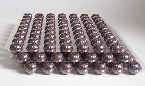 Schokoladen Trüffel Hohlkugeln - Praline Hohlkörper edelbitter 3 Set 189 Stück