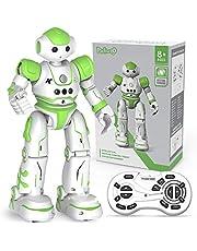 Robot Giocattolo Bambini - Giocattoli per Bambini -Robot Interattivo Gioco - Robot Telecomandato con Intelligente Programmabile, Gesture Sensing,Parla,Cammina,Cantando E Balla,USB Ricaric