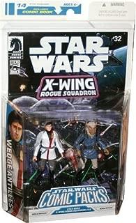 Star Wars Comic Packs: Star Wars #32 - Wedge Antilles and Borsk Feylya Action Figures