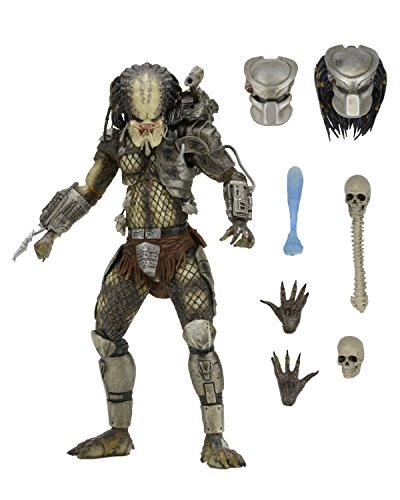 NECA- Ultimate Predator Figura Jungle Hunter, Multicolor (NECA51548)