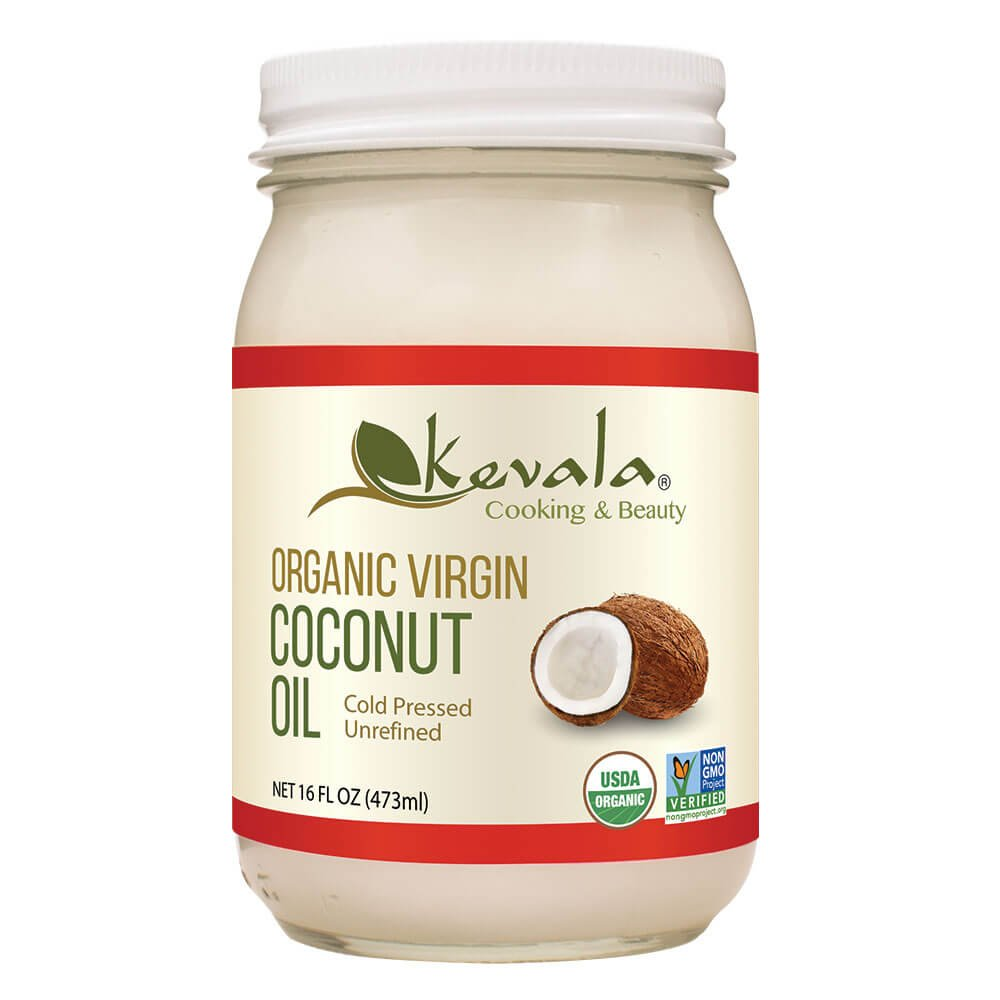 Max 67% OFF Kevala Organic Raw Coconut Oil Ounce Easy-to-use 16