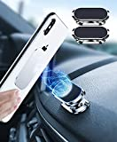 2 PC Supporto Magnetico Per Telefono, Auto per SmartPhone, Supporto Cellulare Macchina, 360° Per Supporto Per Telefono Compatibile iphone XS XR 8 7 Samsung Huawei Porta Cellulare da Auto Magnetico