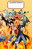 Composition Notebook: One Piece Anime: Notebook Gift for teens and adultsl College Lined Notebookl One Piece Manga Anime (ワンピース)Perfect Gift For All Agel Fans To Write On|Writing Journal Notebook ? Diary ? Notepad (130 P,Blank Lined Ruled,6x9)