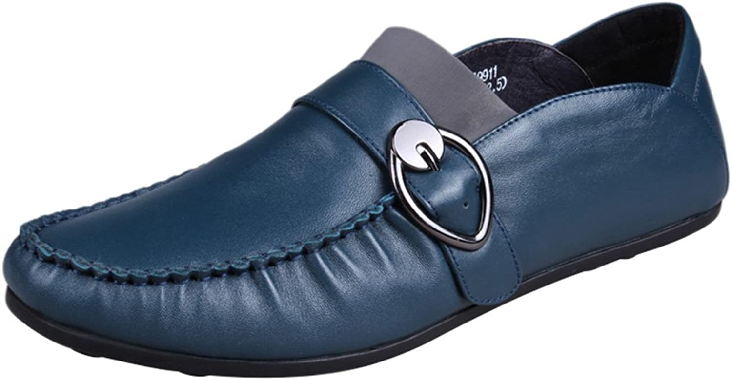 Abby 9918 Mens Leisure Loafers Monk Strap Fashion Bussiness Meeting Sneakers