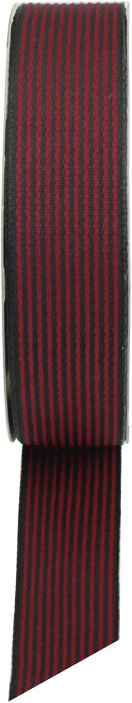 26 mm x Bobina de 18 Iarde Emartbuy Nastro in Tessuto Testurizzato Rotolo di Carta da Regalo Confezione Involucro Rifornimento del Mestiere della Decorazione Corallo Chiaro