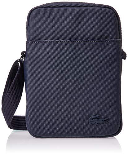 Lacoste heren Sac Homme Access Premium schoudertas, blauw, 20,5 x 4 x 15 cm
