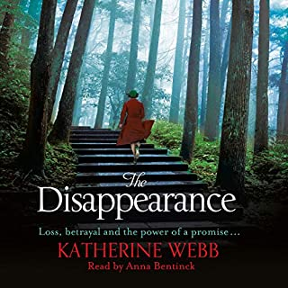 The Disappearance                   By:                                                                                                                                 Katherine Webb                               Narrated by:                                                                                                                                 Anna Bentinck                      Length: 14 hrs     Not rated yet     Overall 0.0