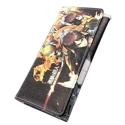 Pallima Portafogli Portafoglio Borsa per Telefono A Portafoglio A Grande capacità con Bottone Lungo Doppia Custodia 19X11cm Attacco Gigante - Allen