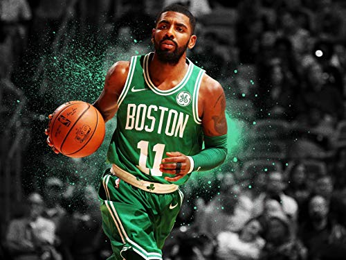 Mingki Kyrie Irving Boston Celtics Poster - 18 × 24 Inch