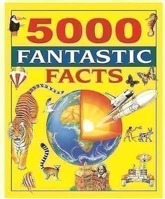 5000 Fantastic Facts Enzyklopädie Für Kinder Englischsprachig Hardcover Buch
