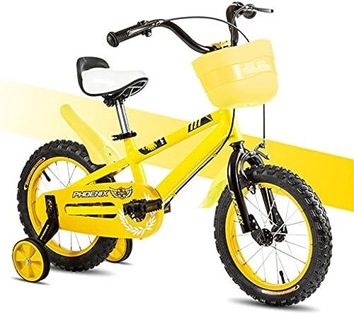 XQ TL-117 Gelb Kinderfürr r 3-13 Jahre alt Junge mädchen High-Carbon-Stahl Kinderfürrad
