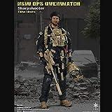 CQ 1/6 Ejército Escala Figura de acción Militar, 12 Pulgadas U.S NSW Ops Overwatch Sharpshooter Flexibles Macho Soldado Modelo de Recogida de Juguetes Militares Set de Juegos for Hombre Regalo Toys