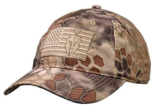 Kryptek Mens - Flag HAT, Highlander