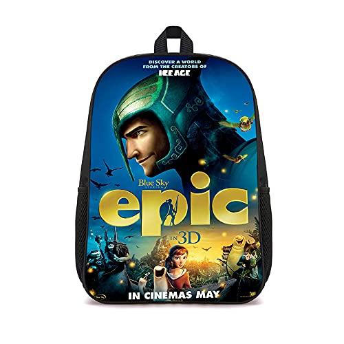 ASFDF Mochilas Epic Book Bookbag Mochila infantil para niños niñas adultos adolescentes 41x12x28cm