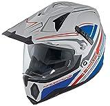Held Makan Dekor Enduro casco gris y azul Talla:small