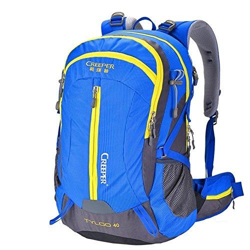 Backpack éclairage d'alpinisme/Sac extérieur étanche Sac à Dos/Sac à Dos randonnée/Camping Package-Blue 50L