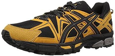 ASICS Men's Gel-Kahana 8 Trail Running Shoe, Sandstorm/Black, 10.5 M US
