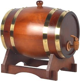 Tonneau de Vin en chêne Fût de chêne Fûts de Whisky, Fûts de Chêne de Style Vintage pour La Fabrication ou Le Stockage de ...