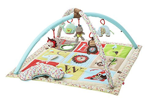 Skip Hop Alphabet Zoo Baby Play Mat and Infant Activity Gym